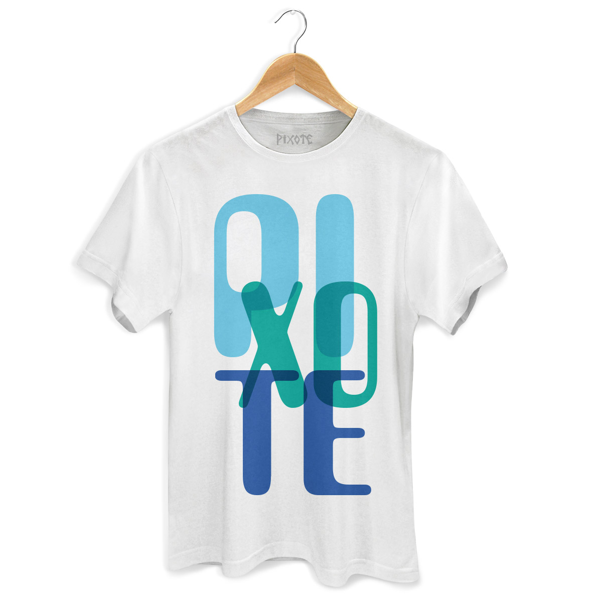 Camiseta Masculina Pixote Blue