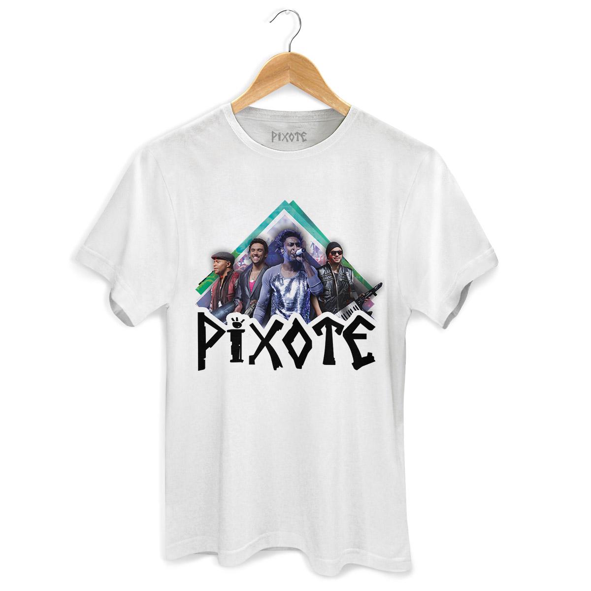 Camiseta Masculina Pixote Foto
