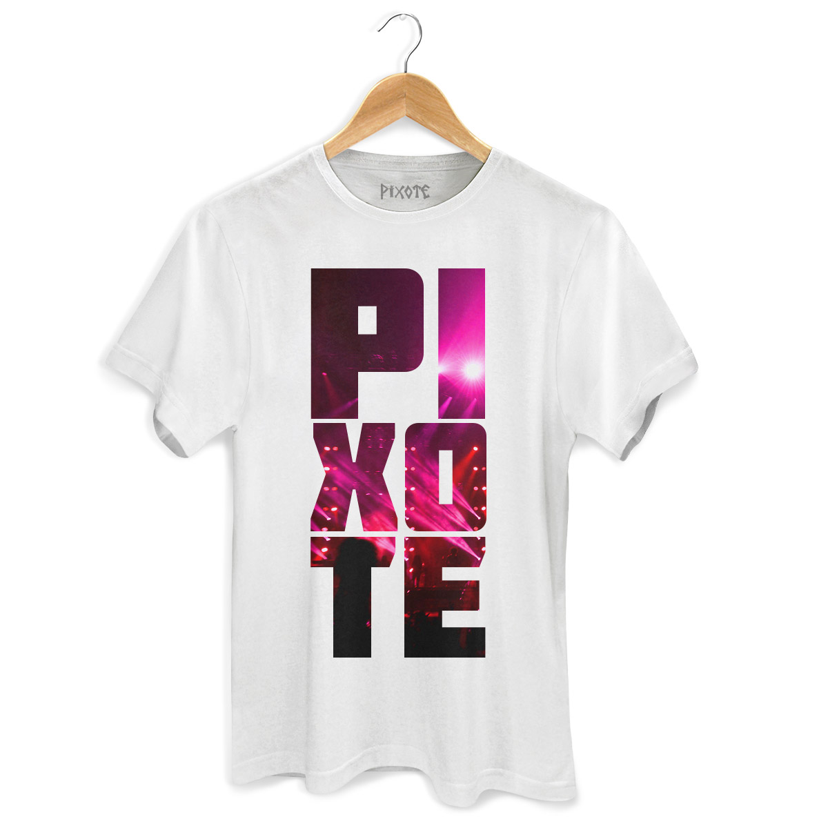 Camiseta Masculina Pixote Lights