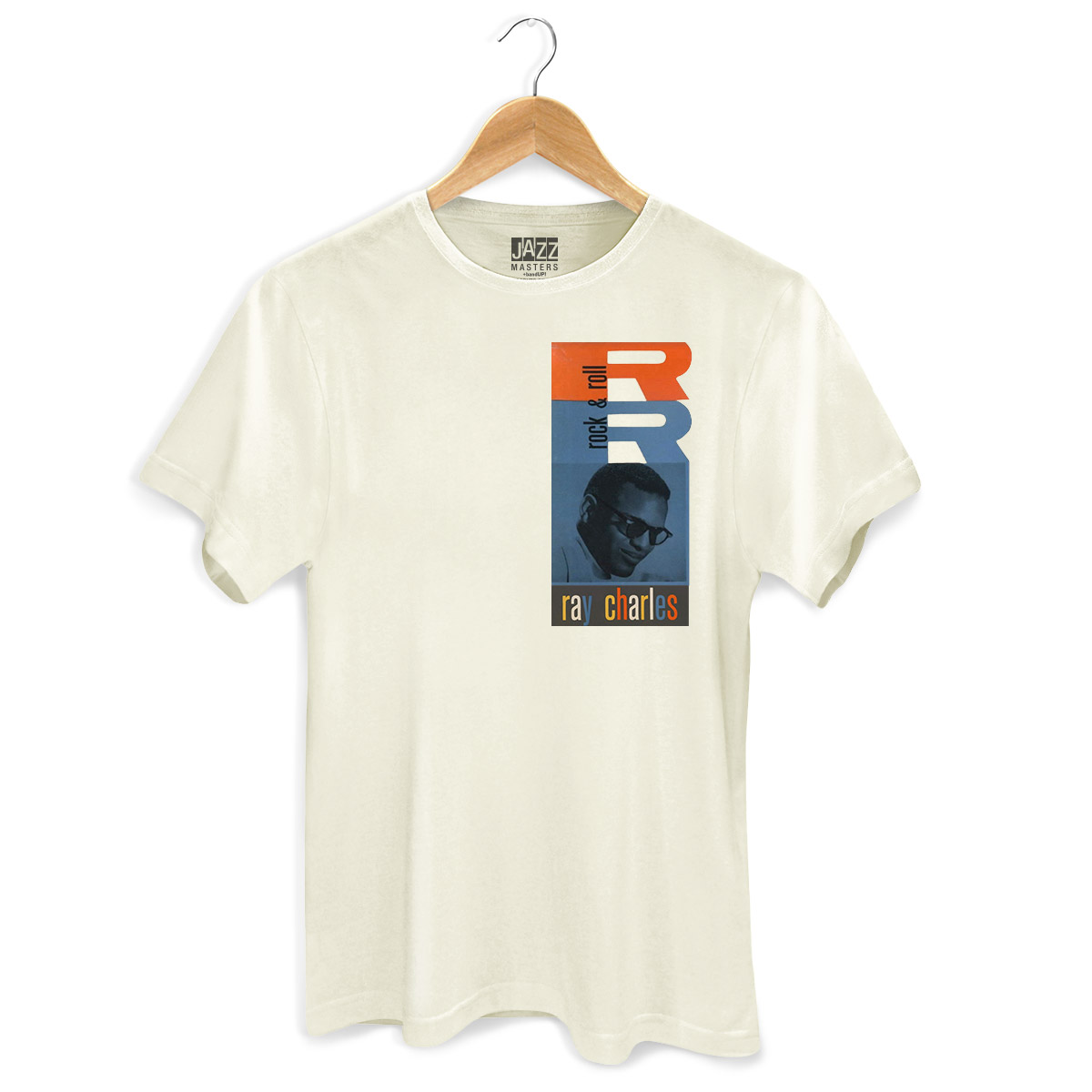 Camiseta Masculina Ray Charles Rock & Roll