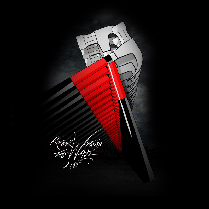 Camiseta Masculina Roger Waters Hammers Megaphone