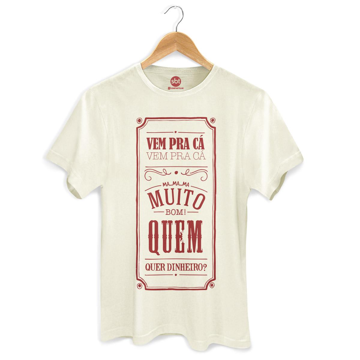 Camiseta Masculina SBT Frases