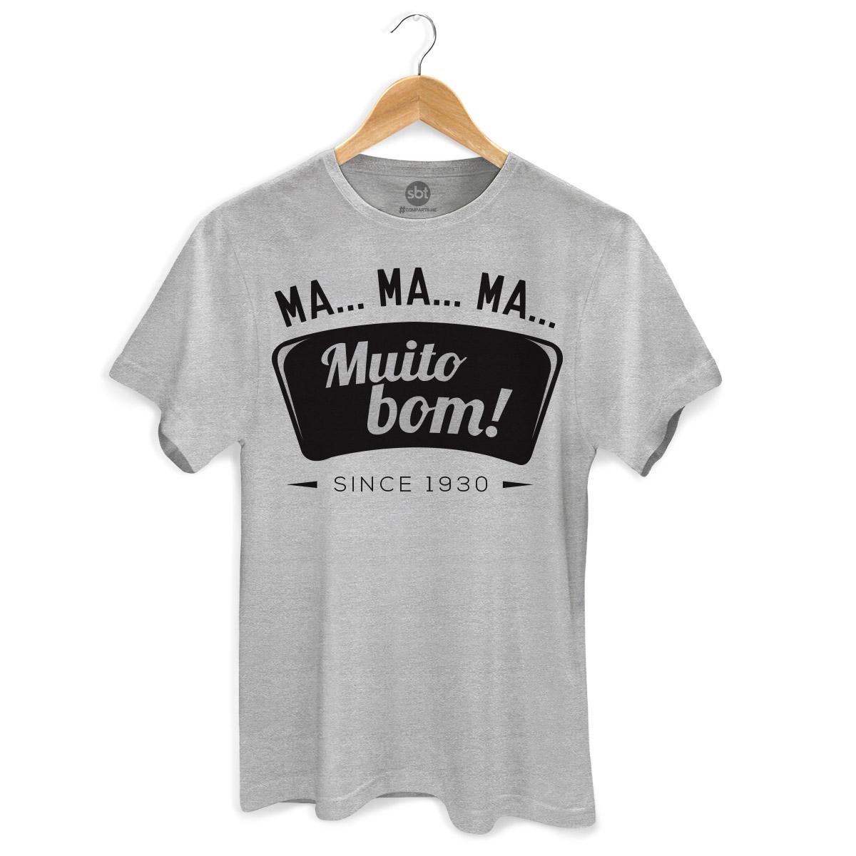 Camiseta Masculina SBT Muito Bom!
