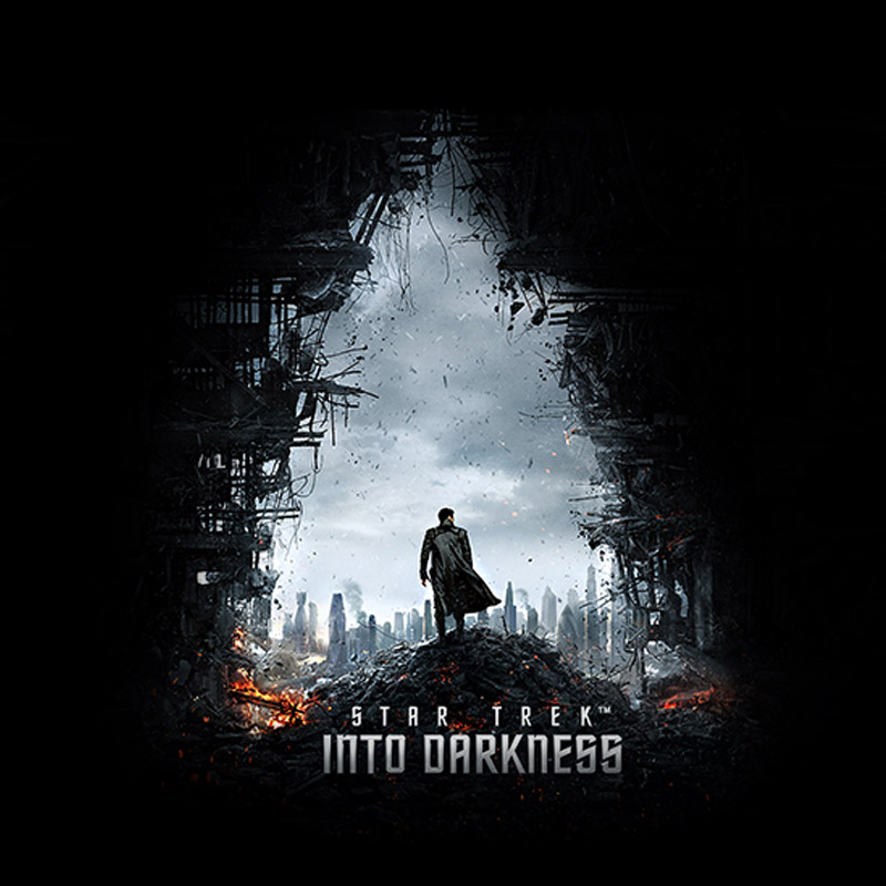Camiseta Masculina Star Trek Into Darkness