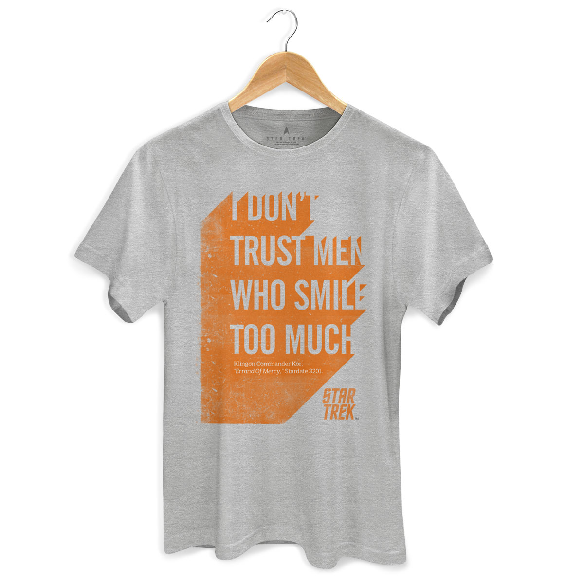Camiseta Masculina Star Trek Sentence