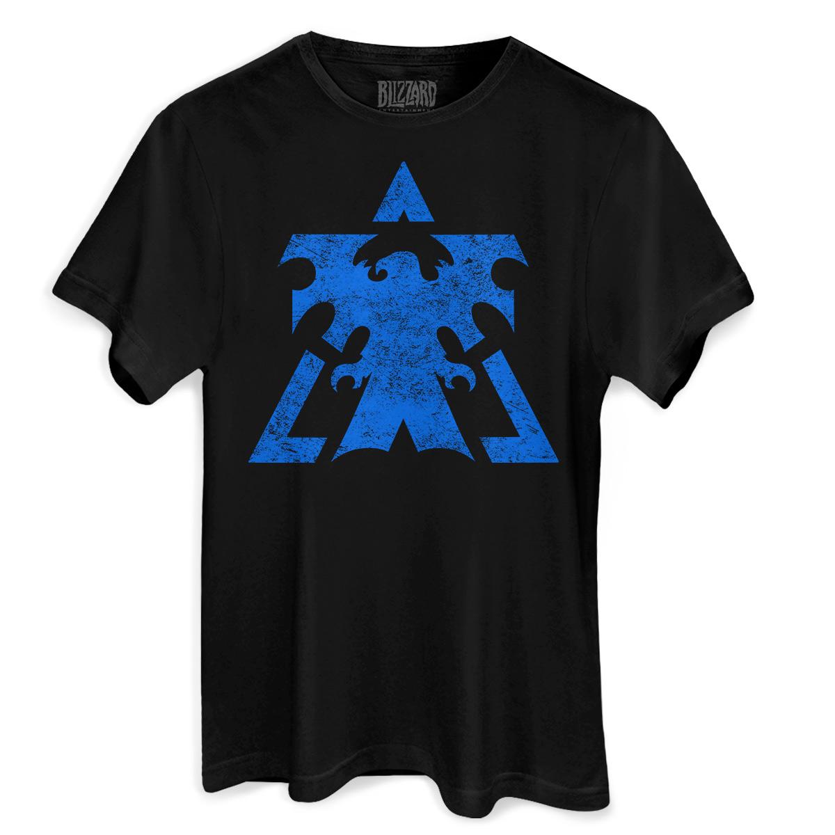 Camiseta Masculina Starcraft 2 Terrans