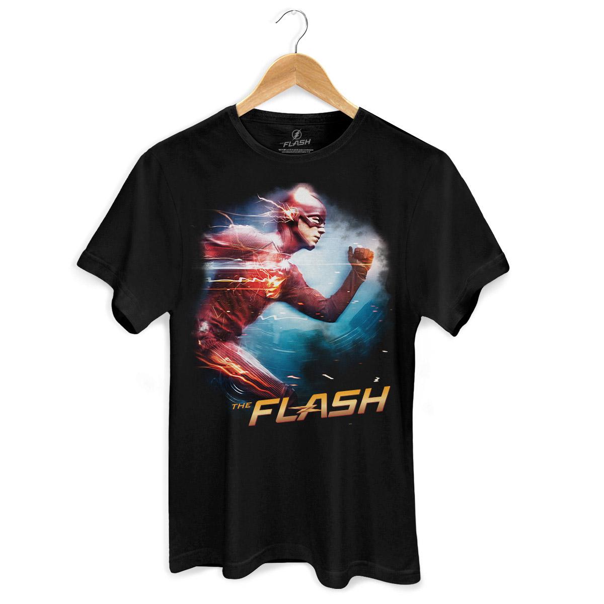 Camiseta Masculina The Flash Serie Running