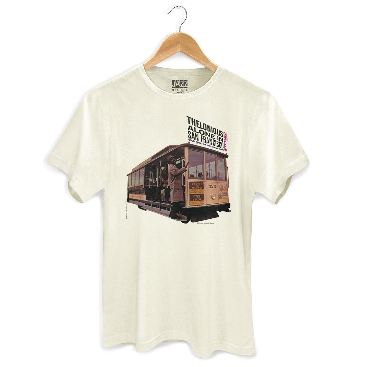 Camiseta Masculina Thelonious Monk Alone In San Francisco