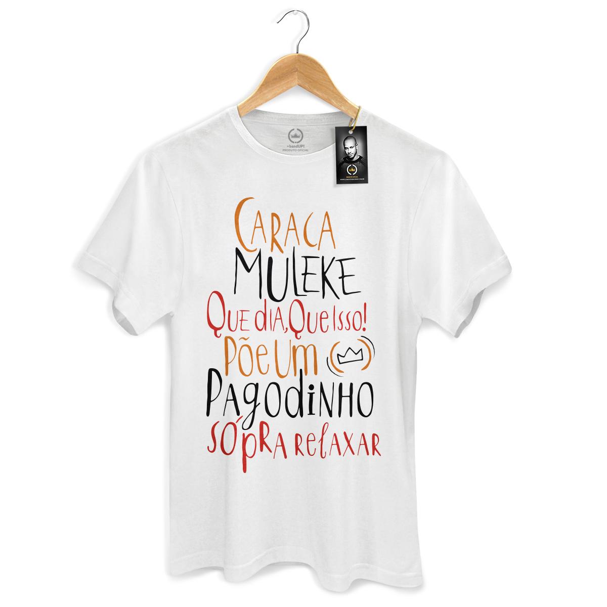 Camiseta Masculina Thiaguinho Que Dia, Que Isso!