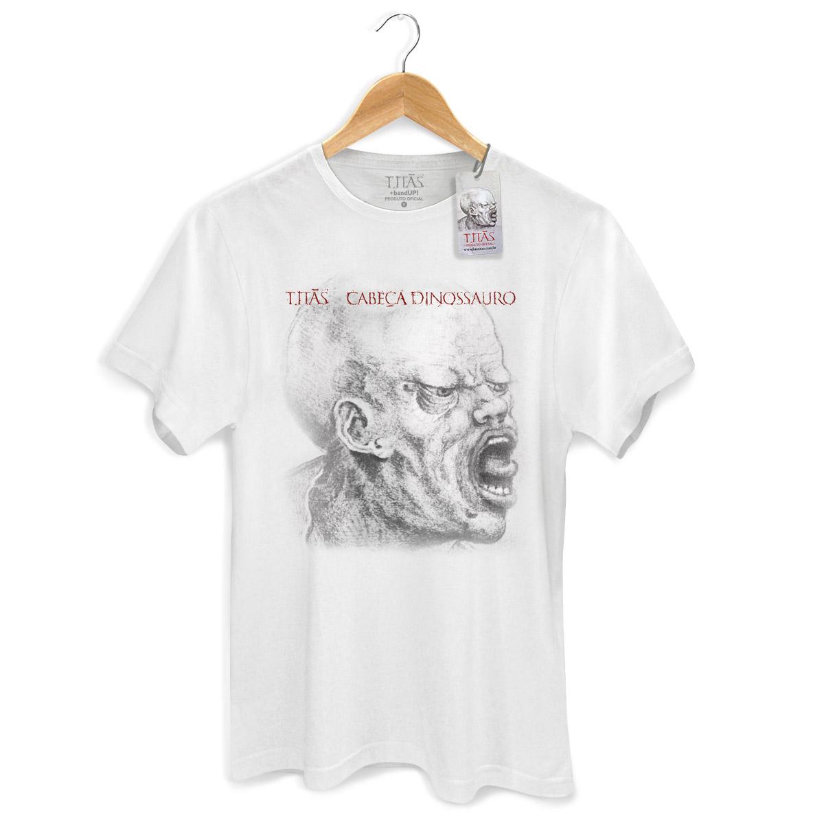 Camiseta Masculina Titãs Cabeça Dinossauro