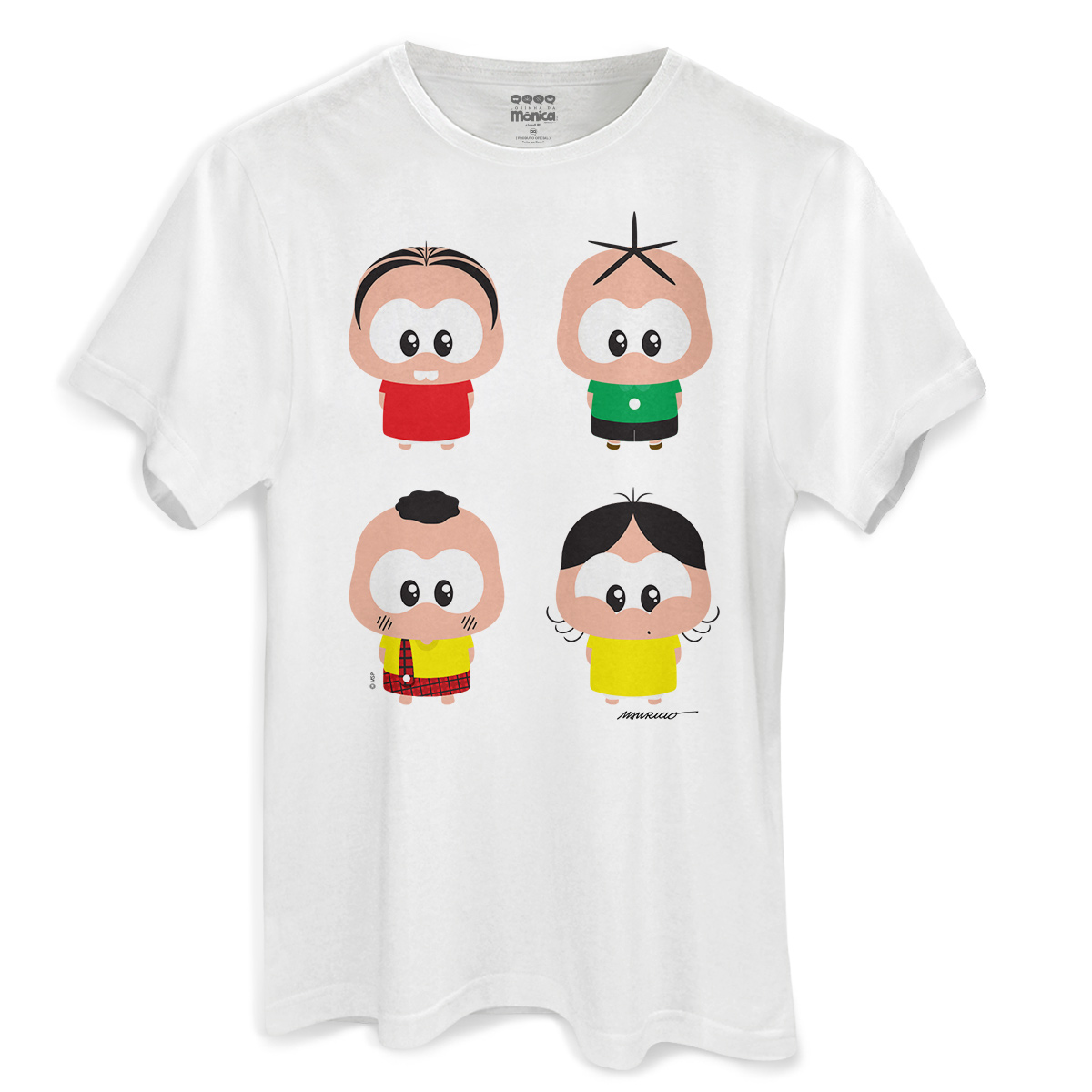 Camiseta Masculina Turma da Mônica A Turma Toy