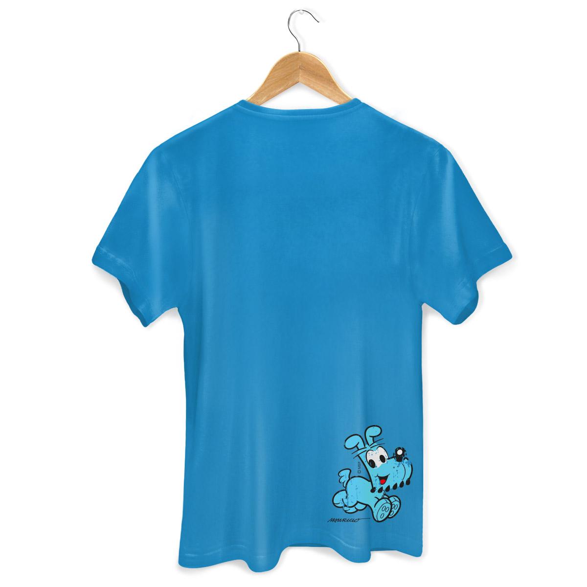 Camiseta Masculina Turma da Mônica Cool Olhões Bidu