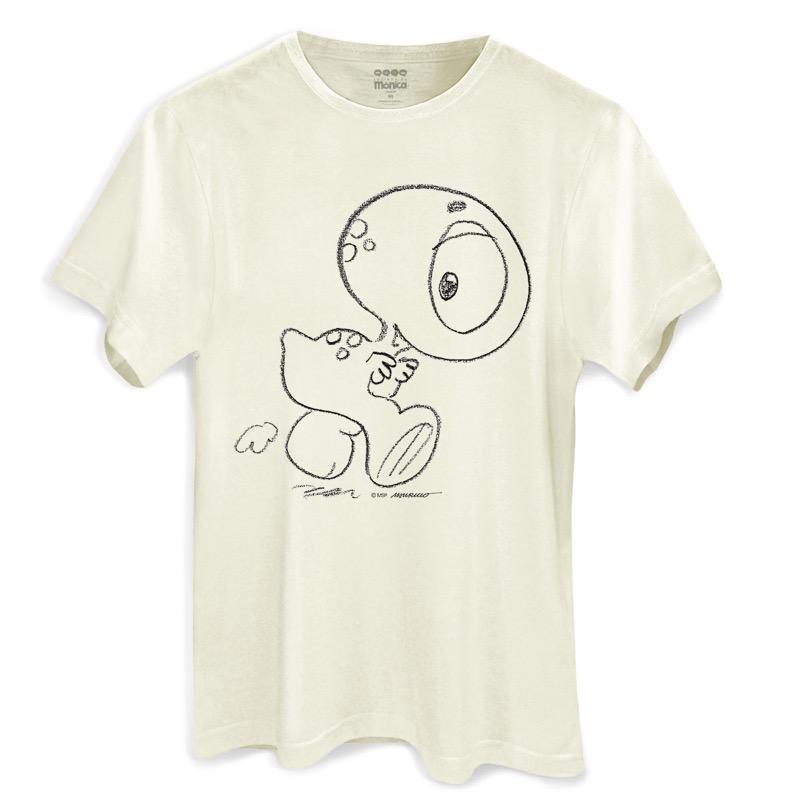 Camiseta Masculina Turma da Mônica Horácio Traço