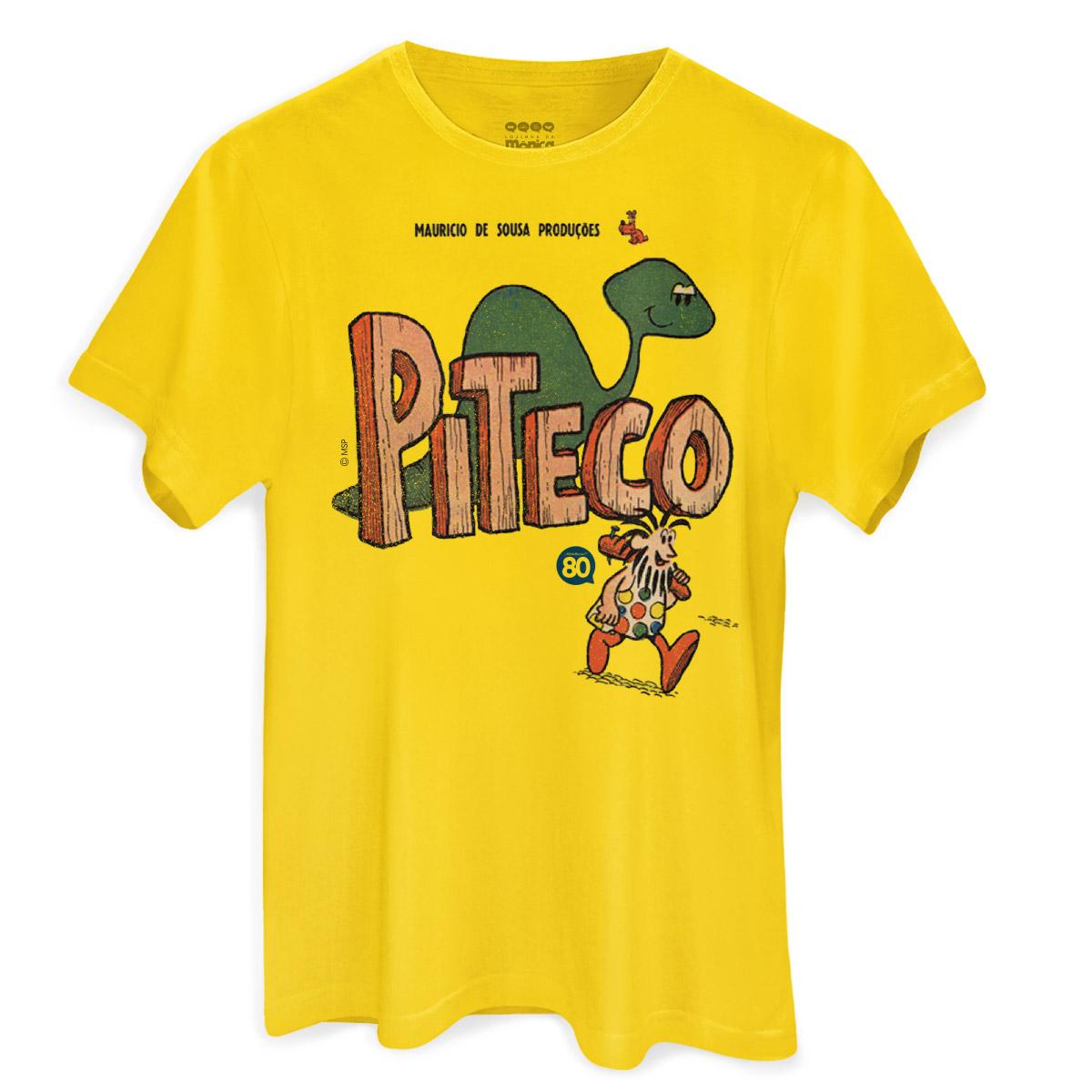 54688b2a32 Camiseta Masculina Turma da Mônica HQ Piteco
