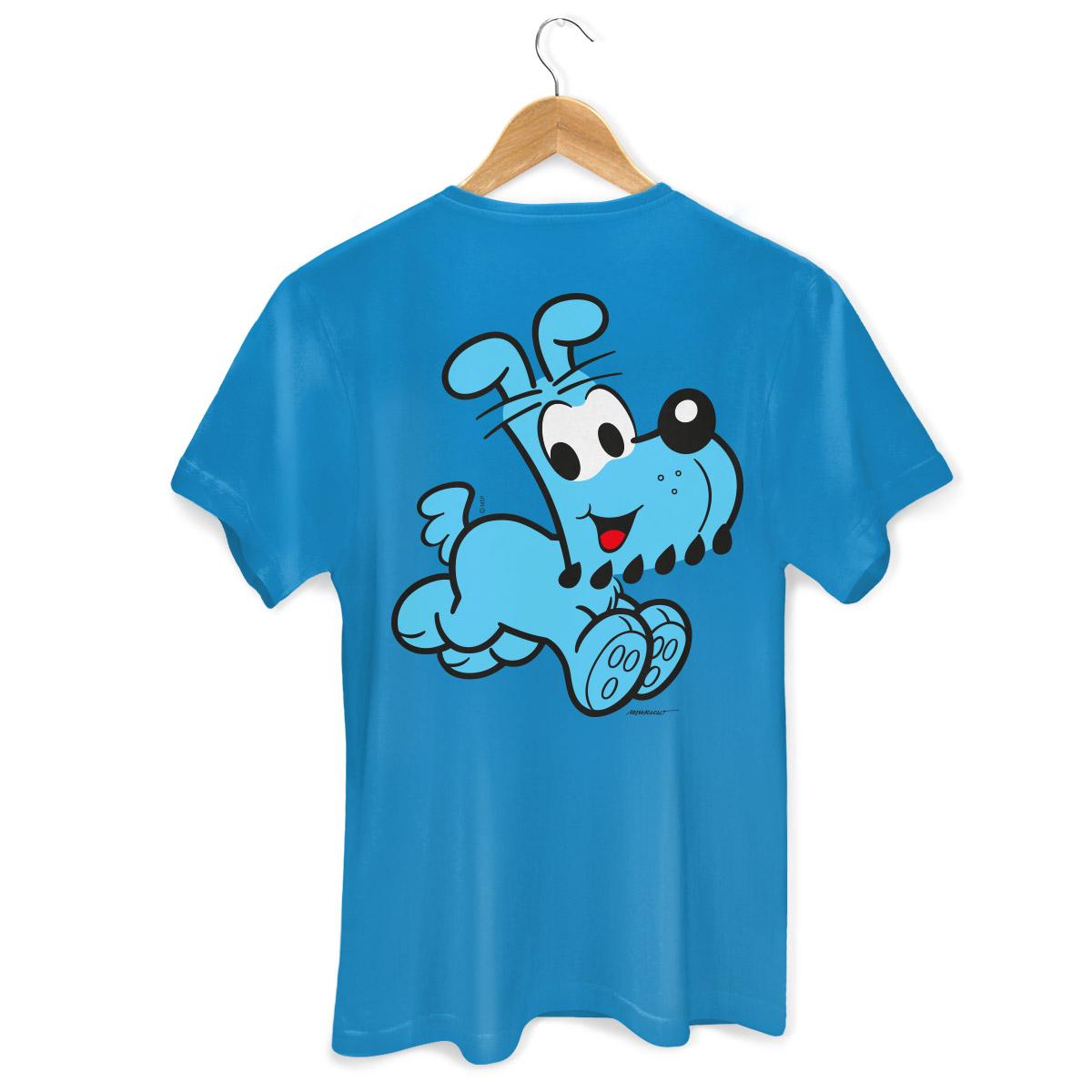 Camiseta Masculina Turma Da Mônica Kids Olhões Bidu