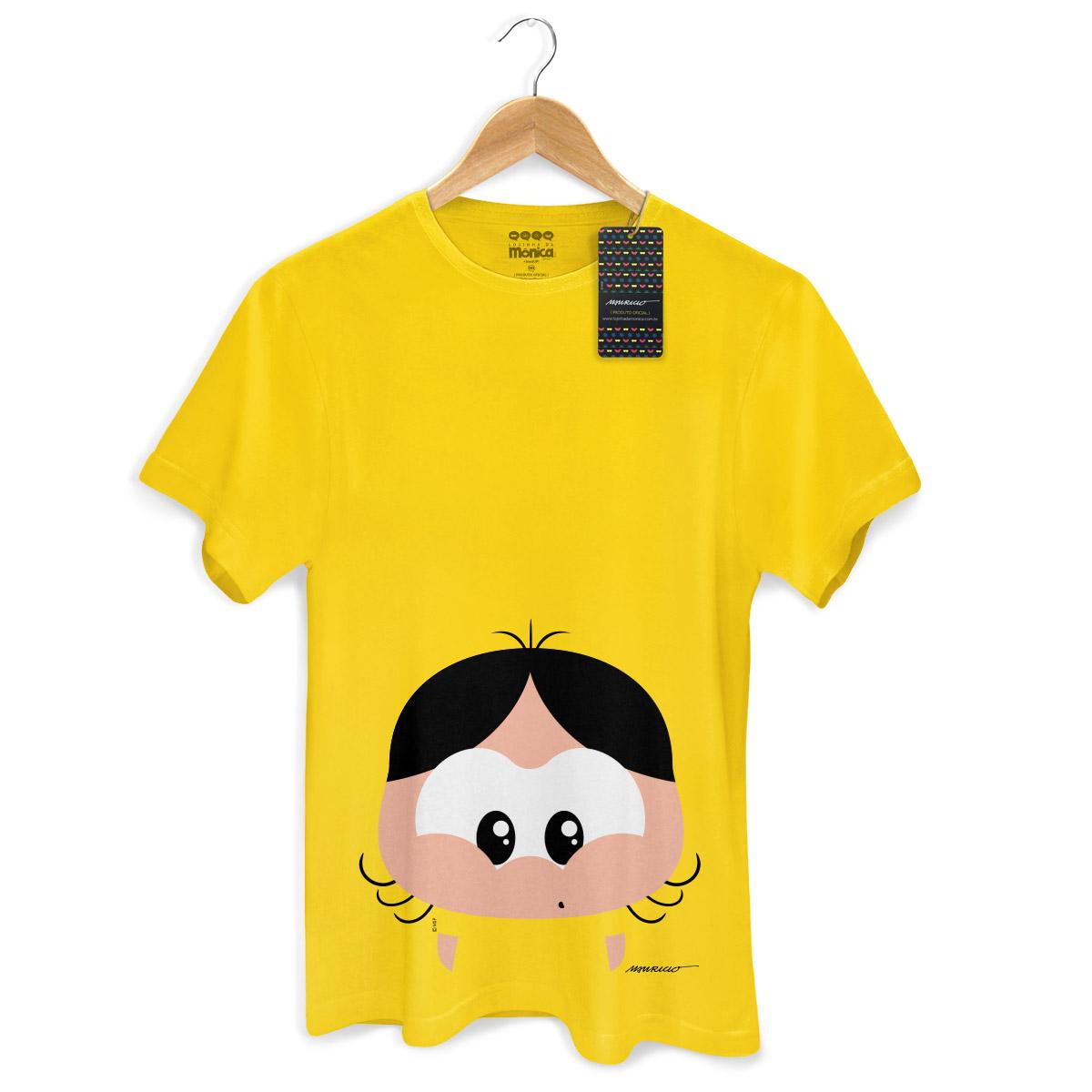 Camiseta Masculina Turma da Mônica Toy Big Cascão