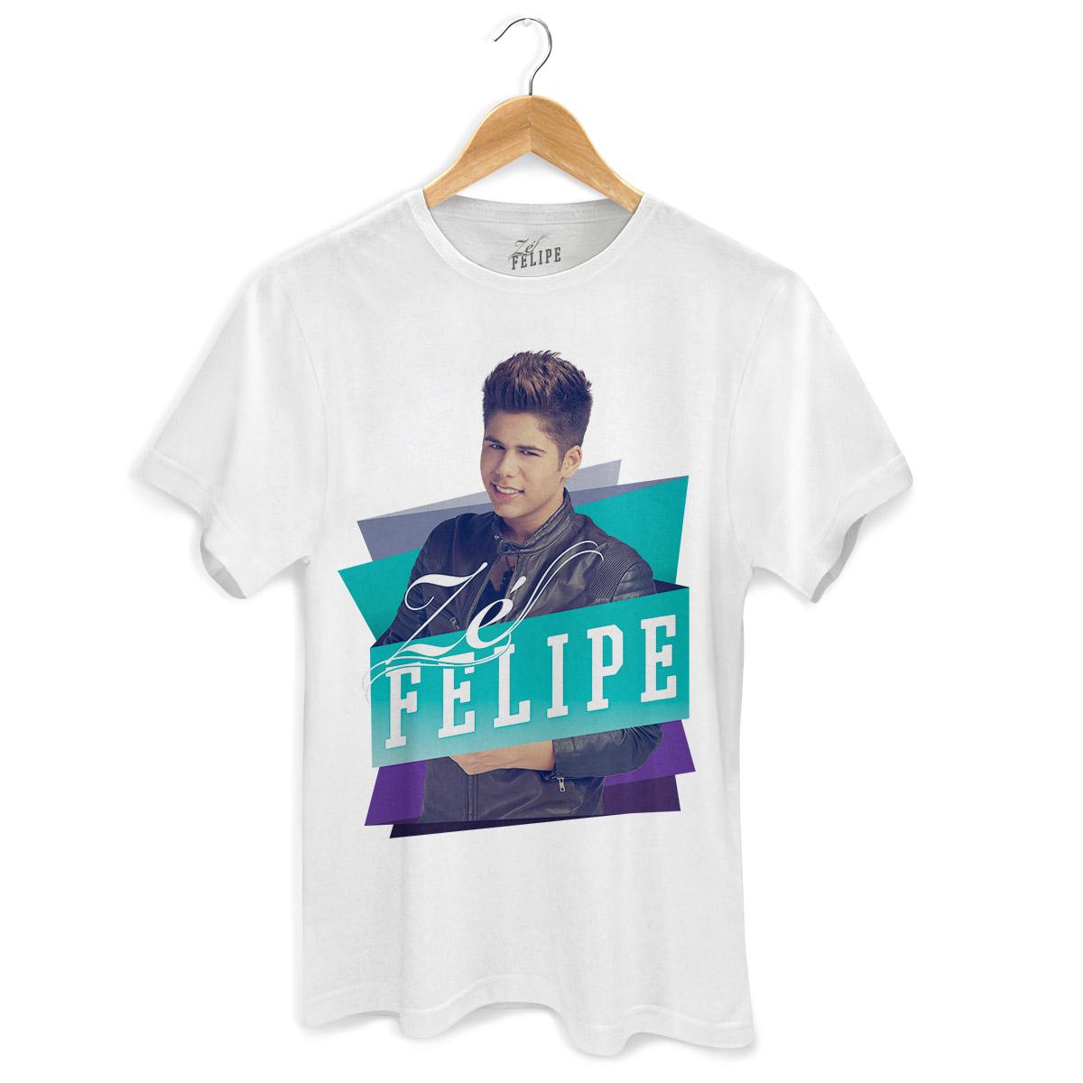 Camiseta Masculina Zé Felipe Colors