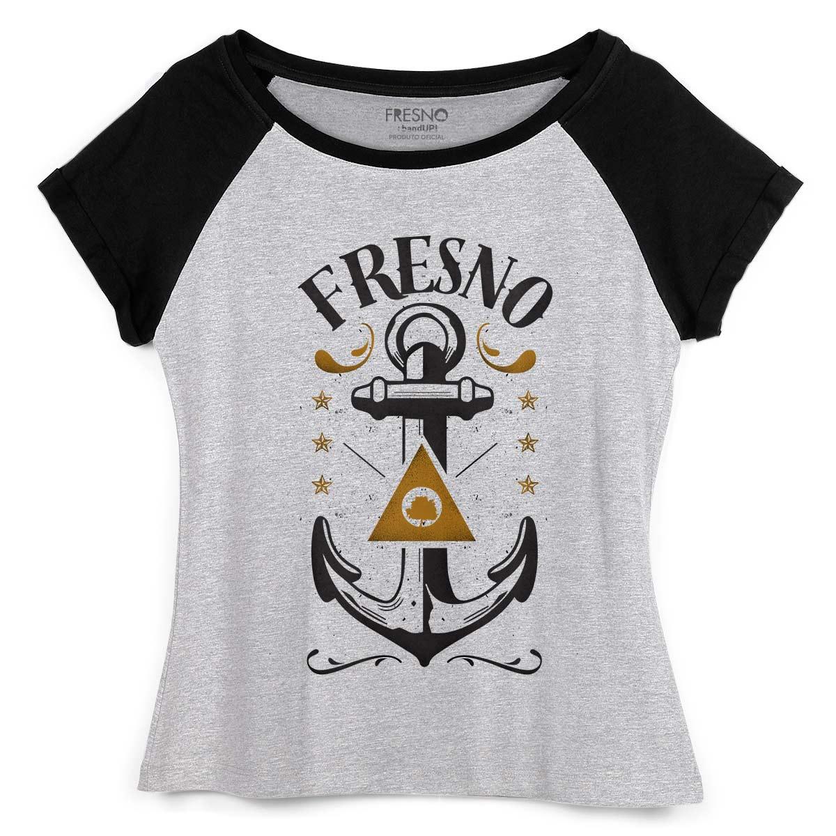 Camiseta Raglan Feminina Fresno Nautic