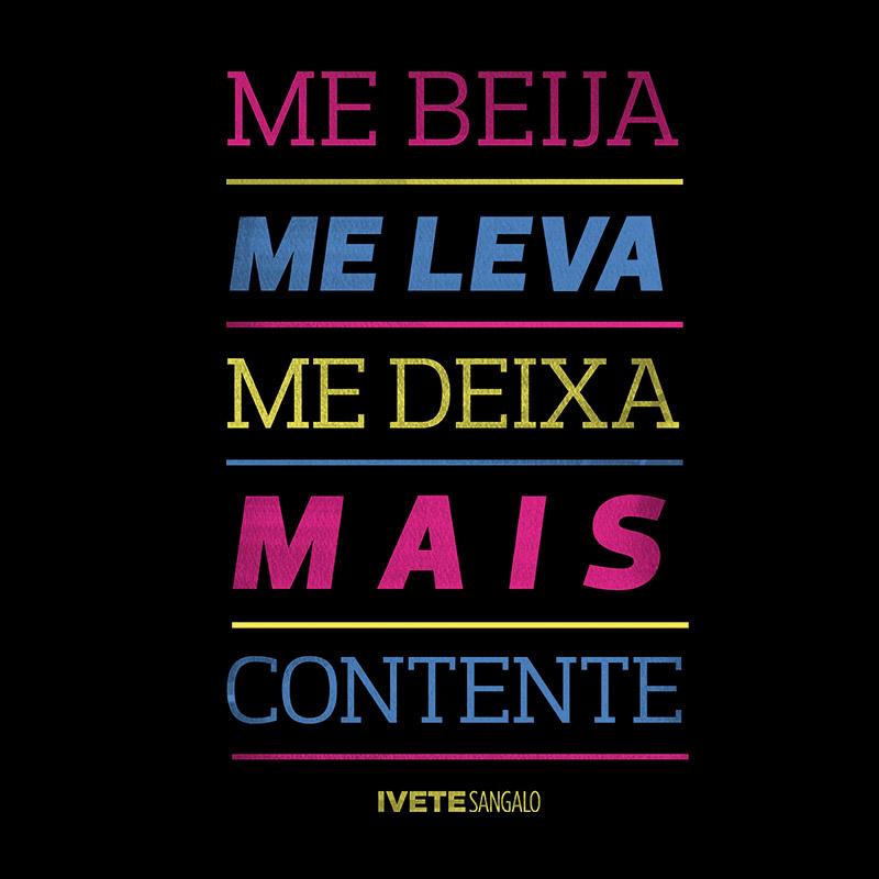 Camiseta Raglan Feminina Ivete Sangalo Me Beija