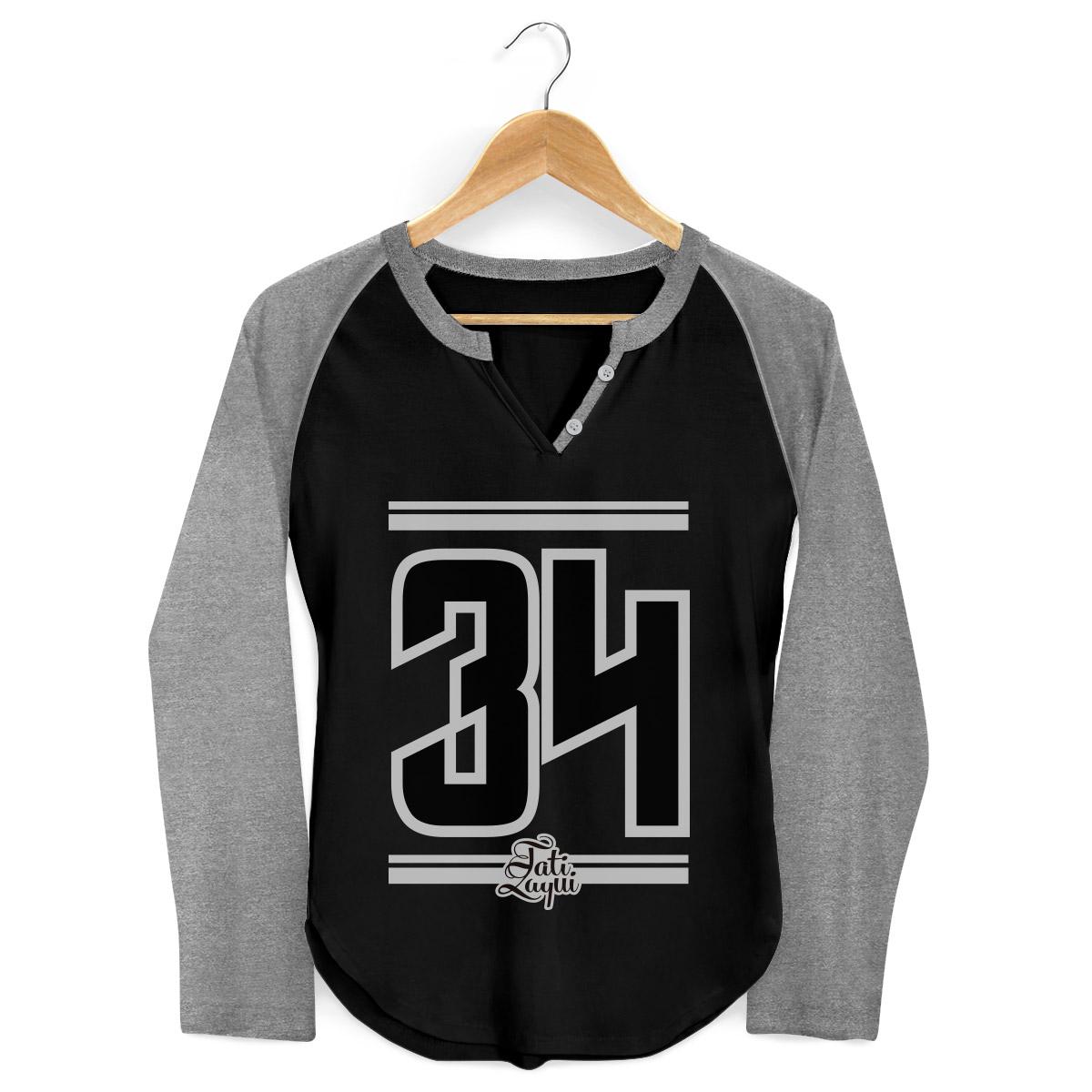 Camiseta Raglan Feminina MC Tati Zaqui 34