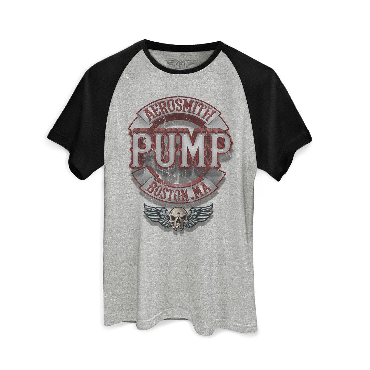 Camiseta Raglan Masculina Aerosmith Pump