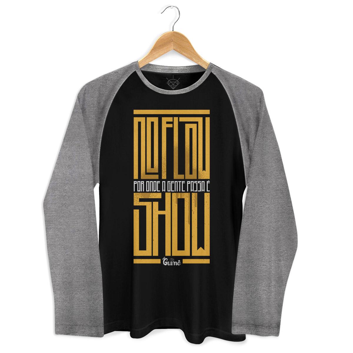 Camiseta Raglan Masculina MC Guimê No Flow