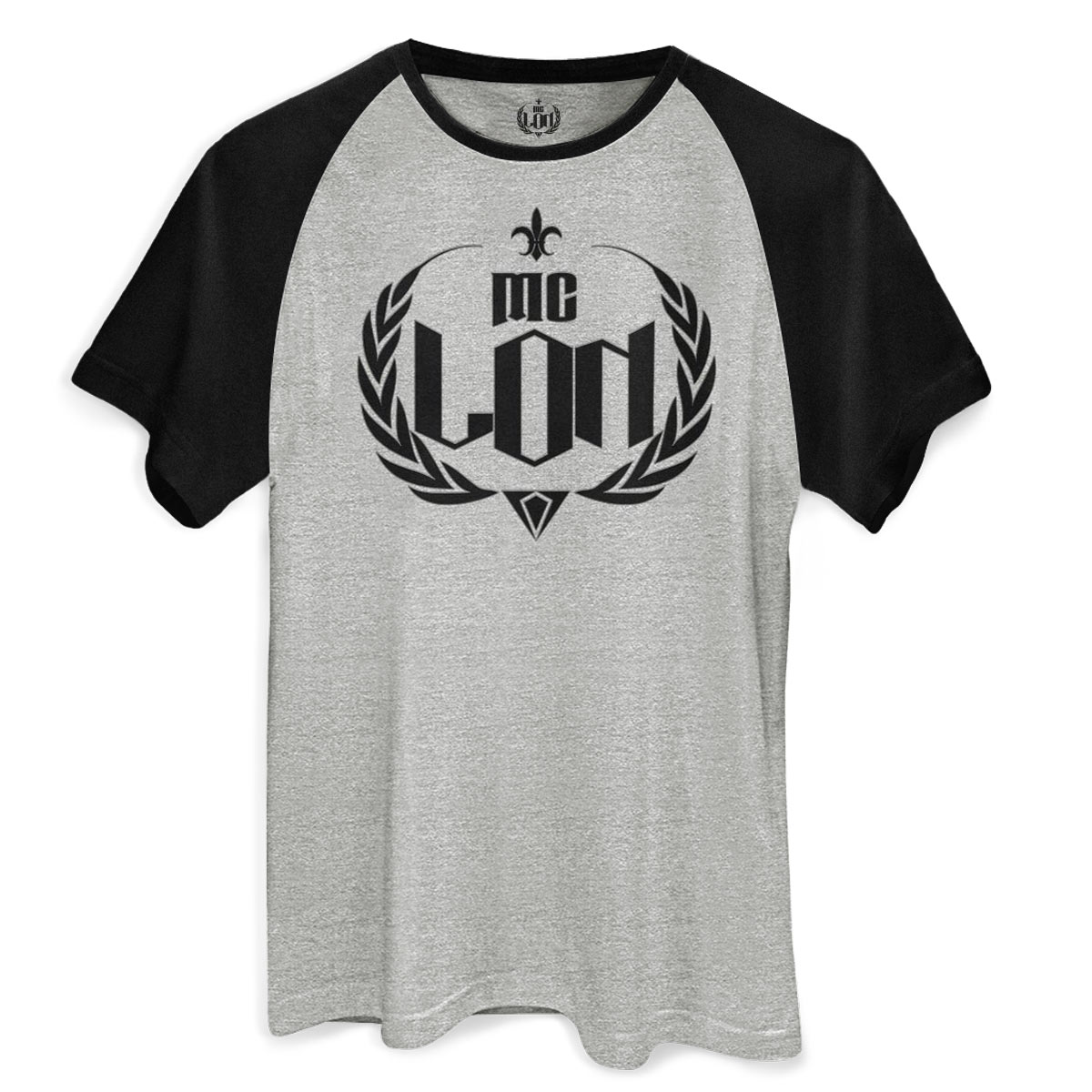 Camiseta Raglan Masculina MC Lon Logo