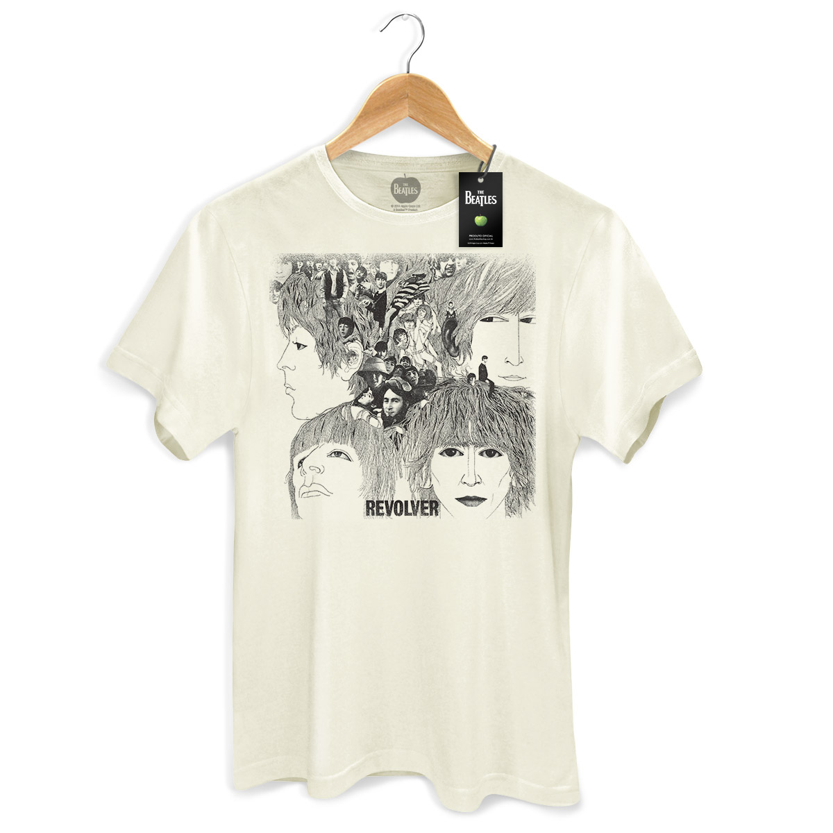 Camiseta Unissex The Beatles Revolver