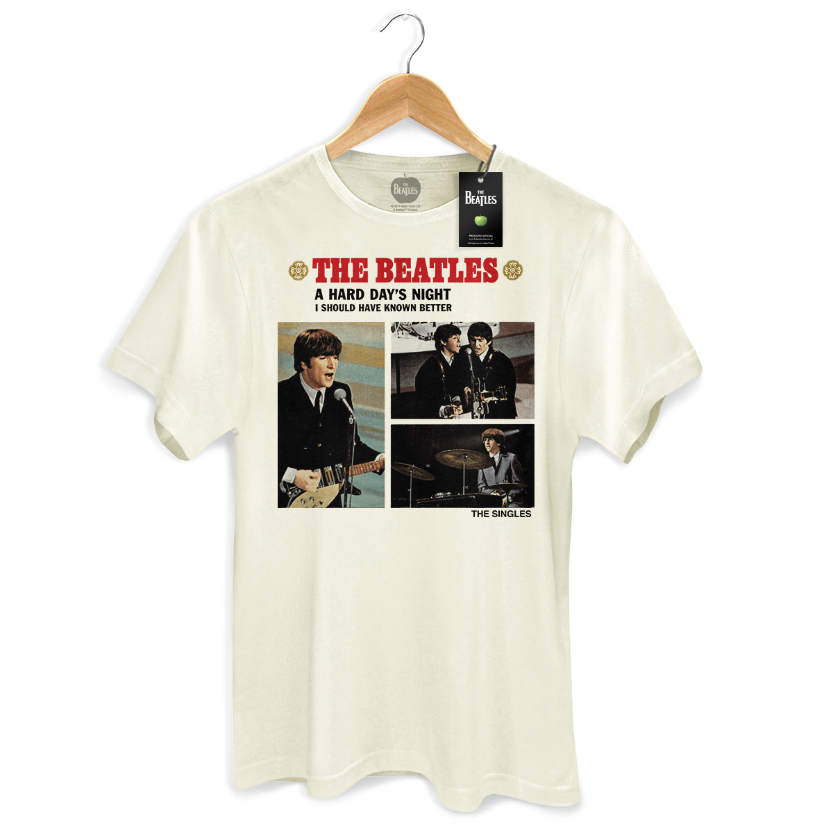 Camiseta Unissex The Beatles Along The Way