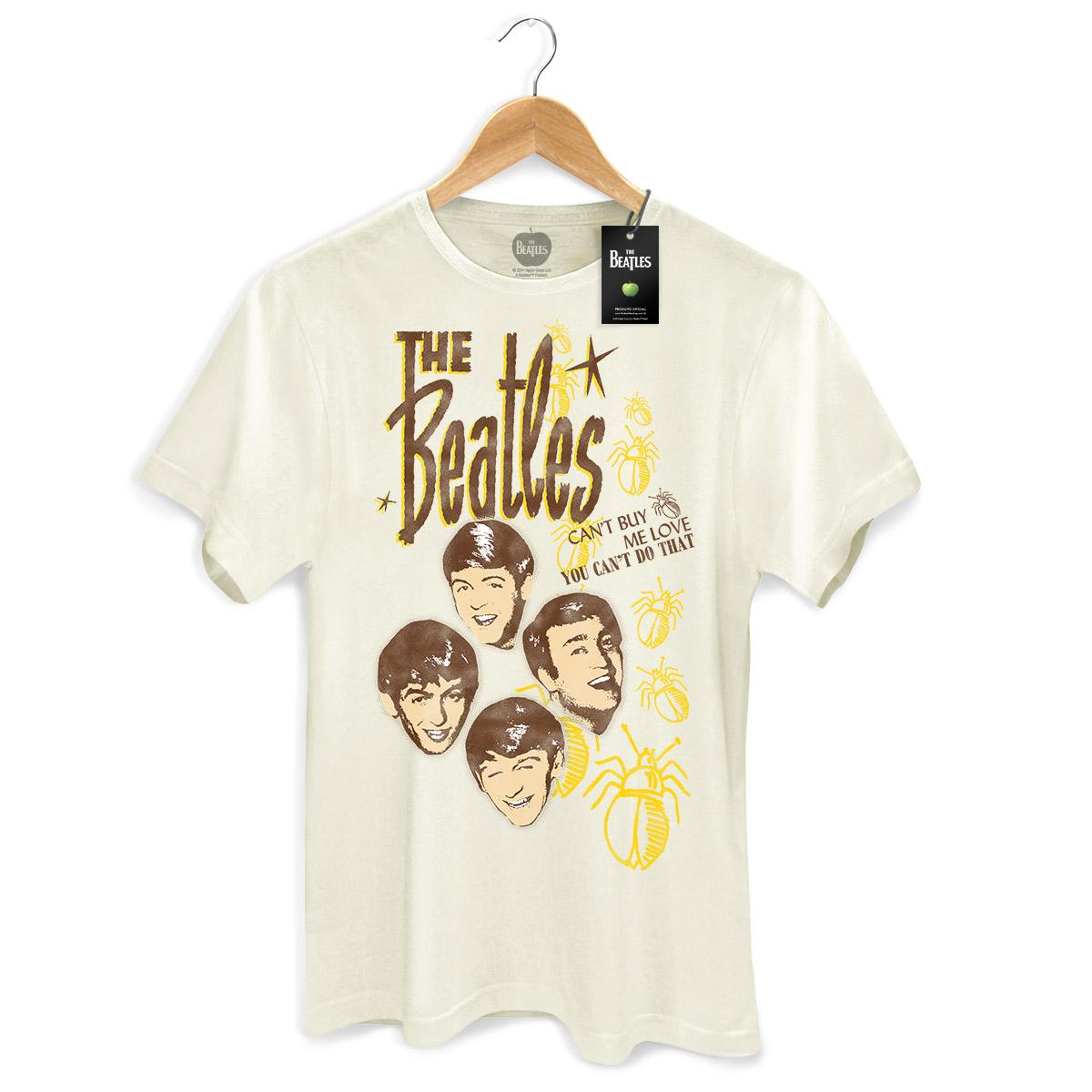 Camiseta Unissex The Beatles Cant Buy Me Love 2 Basic