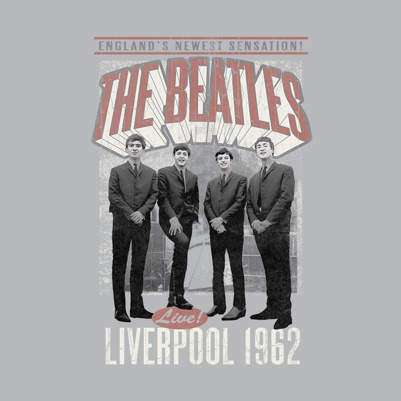 Camiseta Unissex The Beatles Liverpool 1962