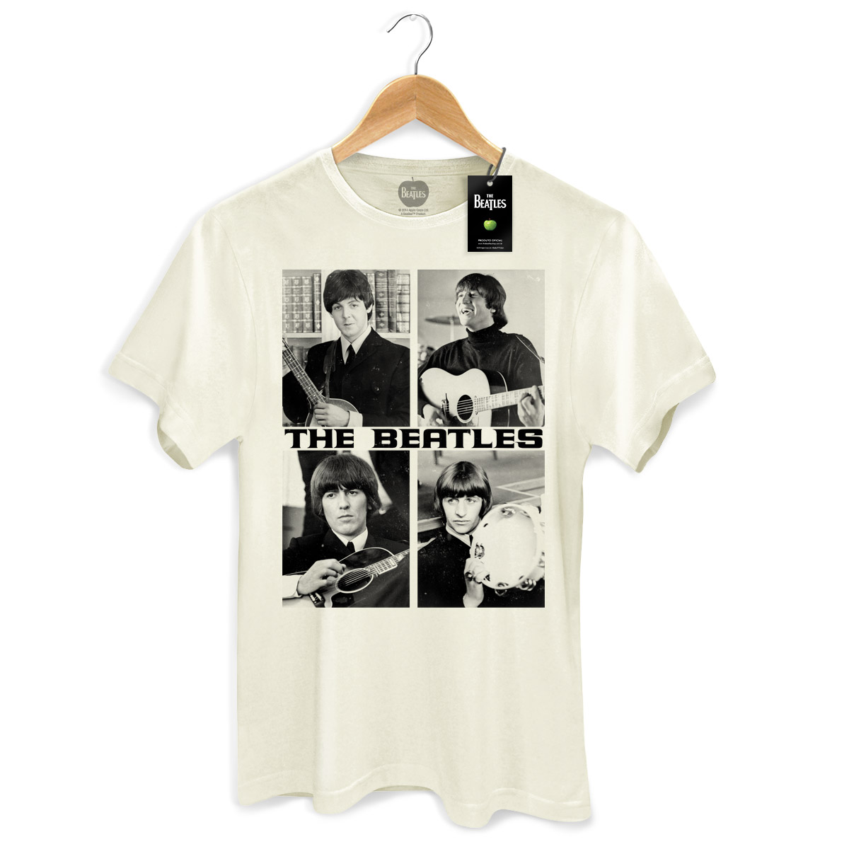 Camiseta Unissex The Beatles Pictures