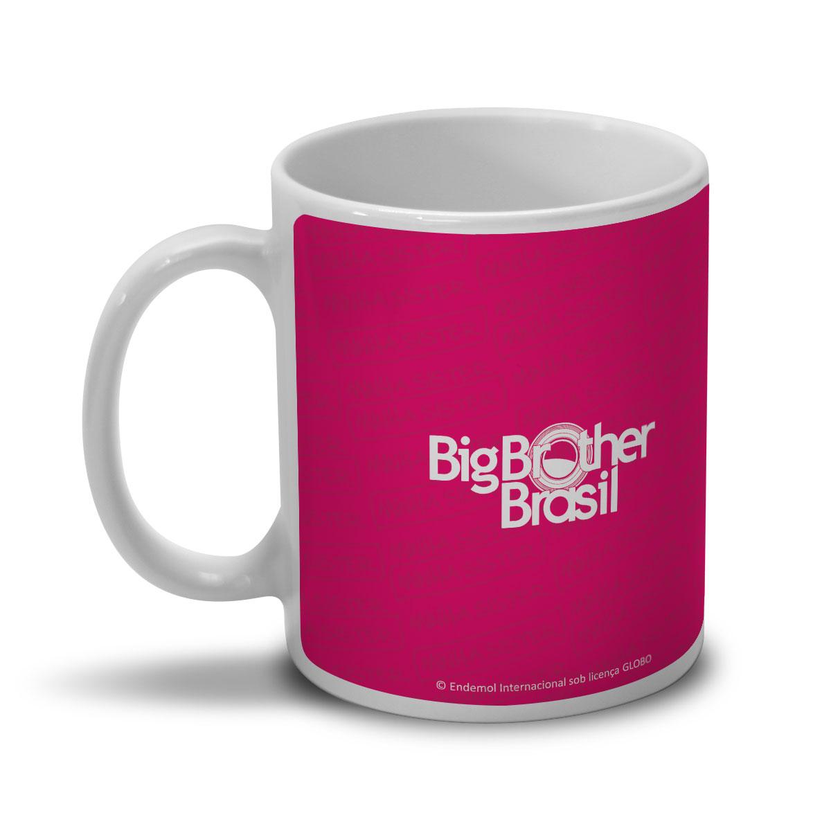 Caneca Big Brother Brasil 15 Minha Sister