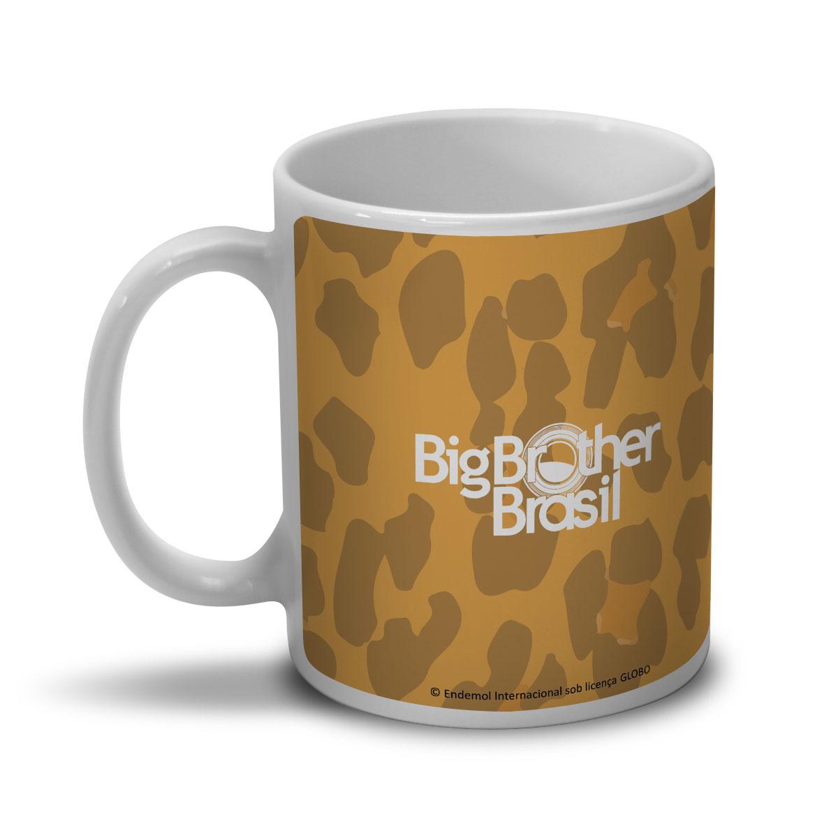Caneca Big Brother Brasil 15 Oncinha