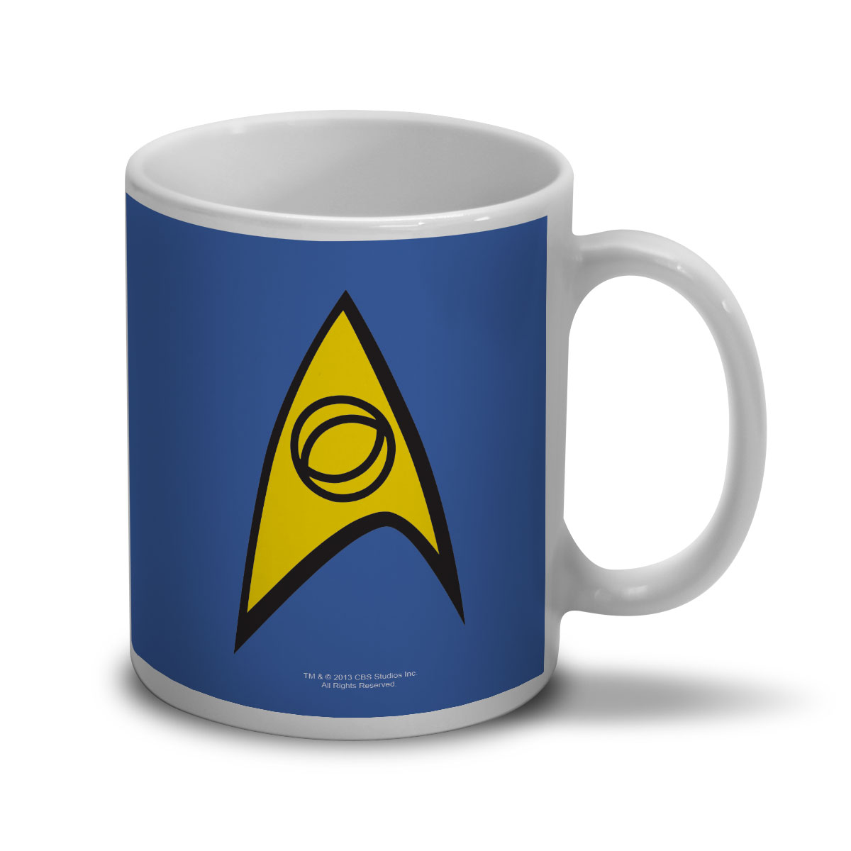 Caneca Star Trek Command Blue