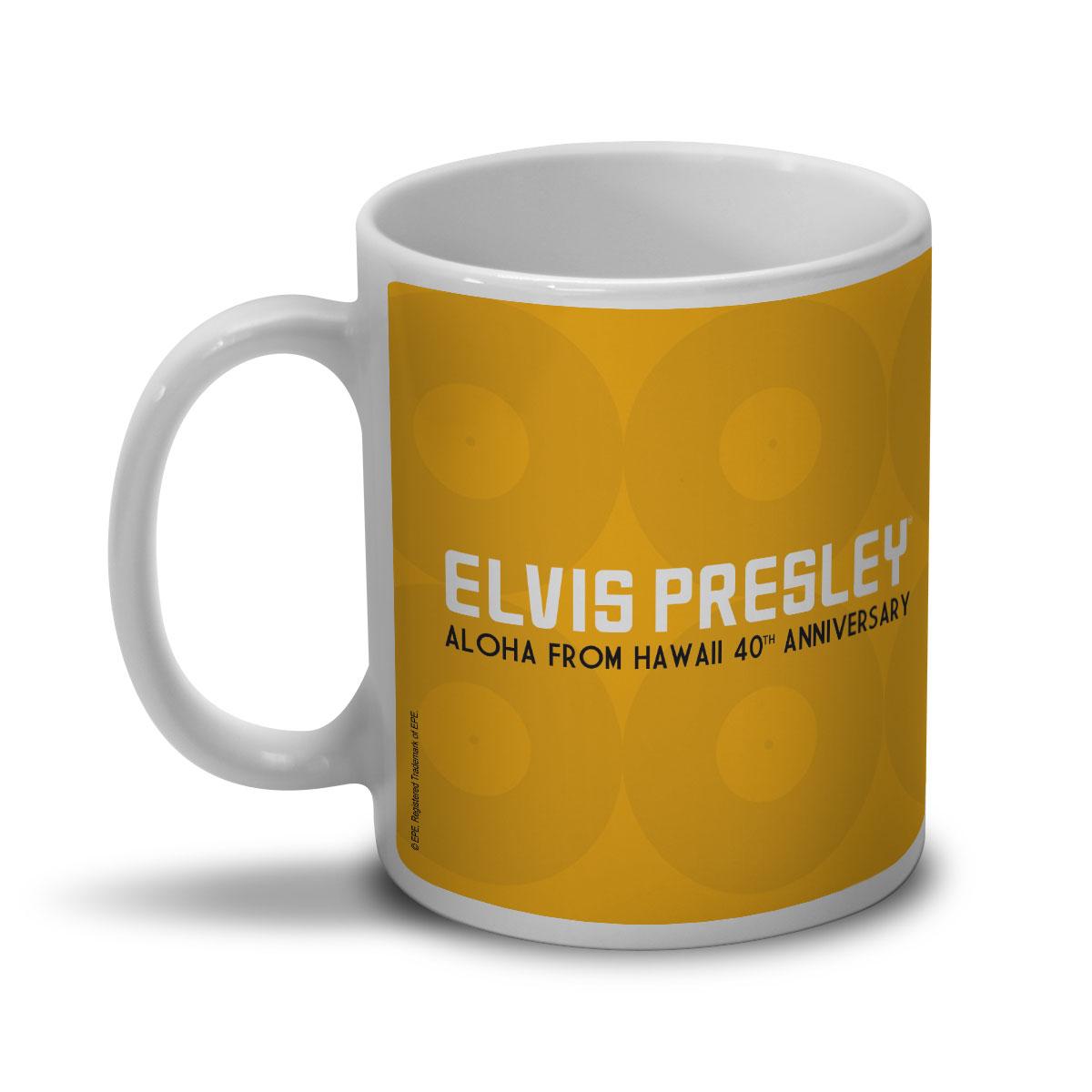 Caneca Elvis Aloha From Hawaii 40th Anniversary