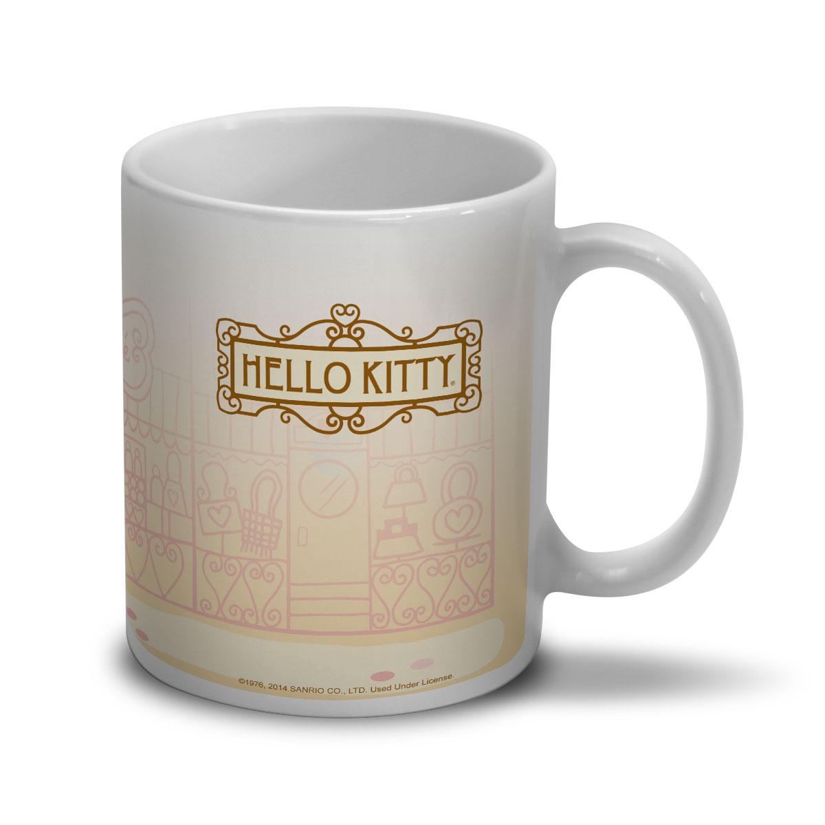 Caneca Hello Kitty Salut! Ça Va?