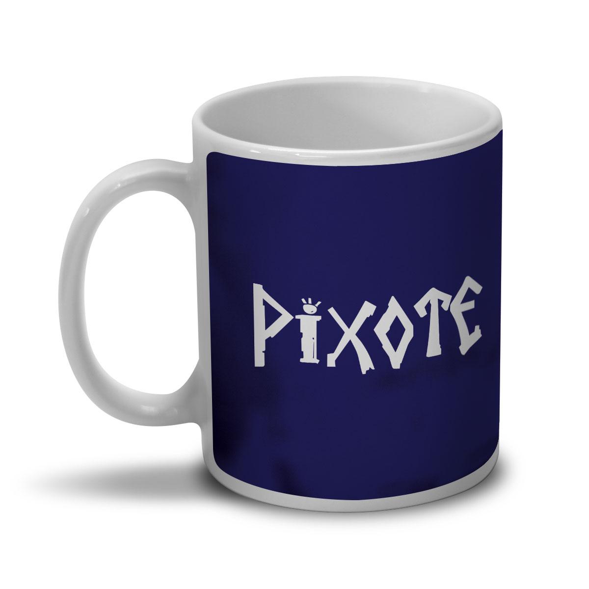 Caneca Pixote Logo