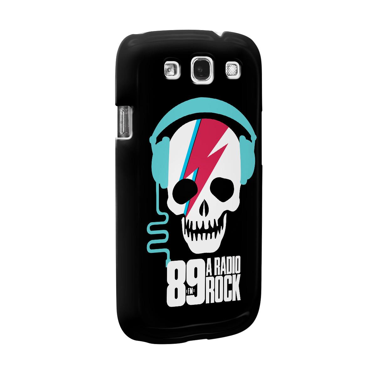 Capa de Celular Samsung Galaxy S3 89 FM Thunder Skull