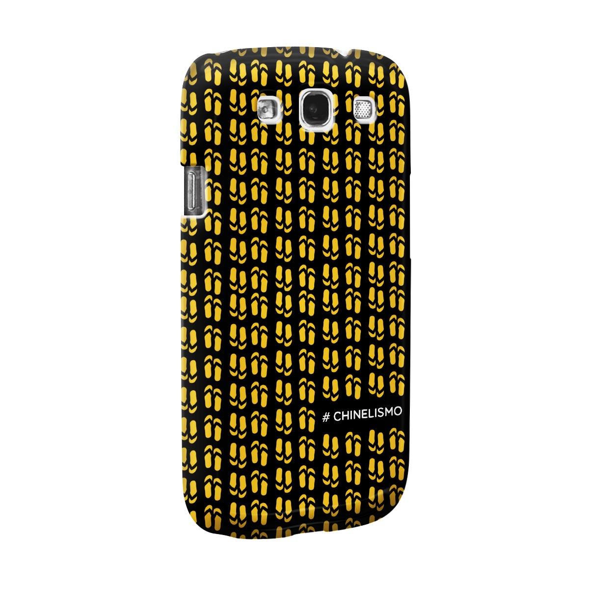 Capa de Celular Samsung Galaxy S3 Saulo #Chinelismo 2