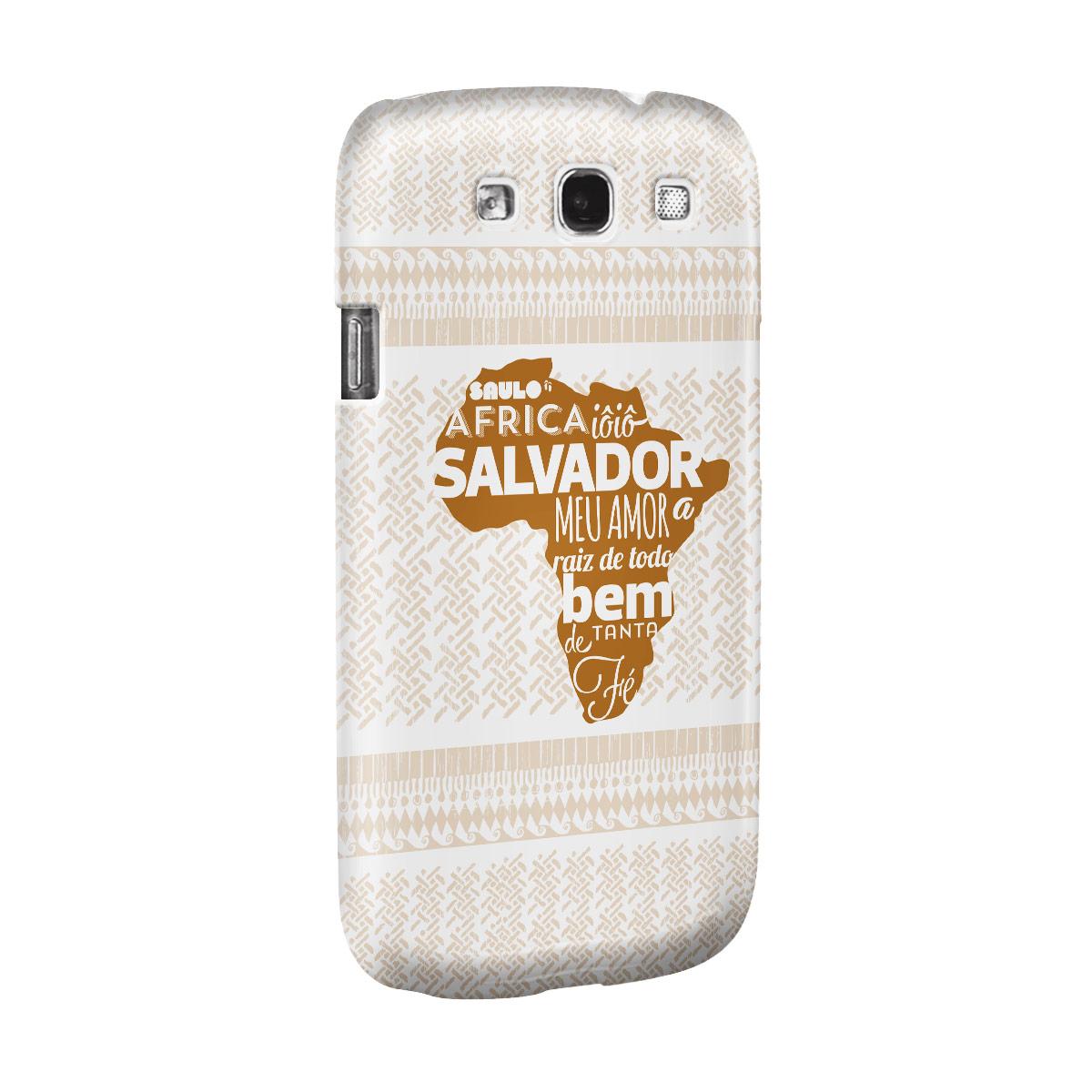 Capa de Celular Samsung Galaxy S3 Saulo Raíz de Todo Bem