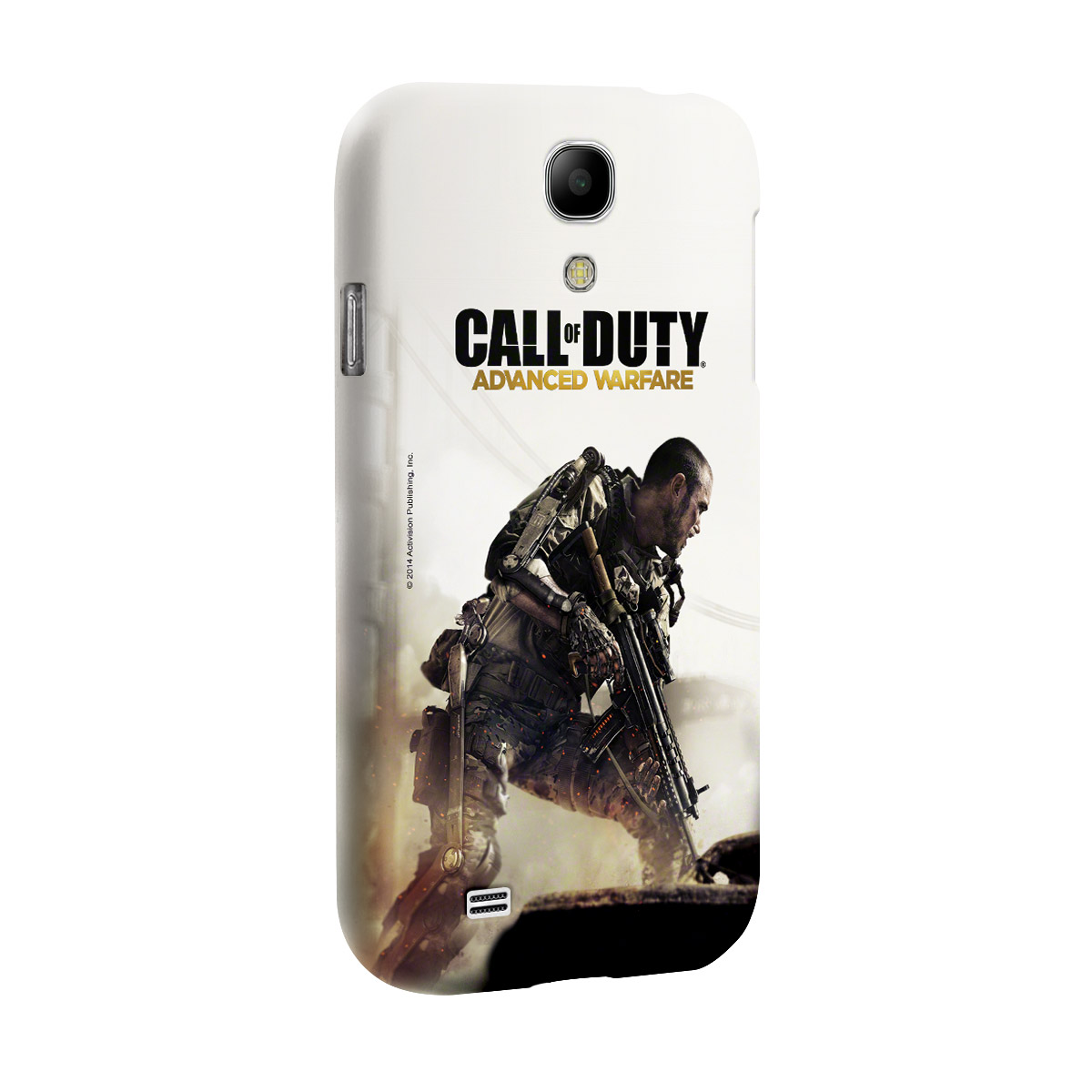 Capa de Celular Samsung Galaxy S4 Call of Duty Soldier