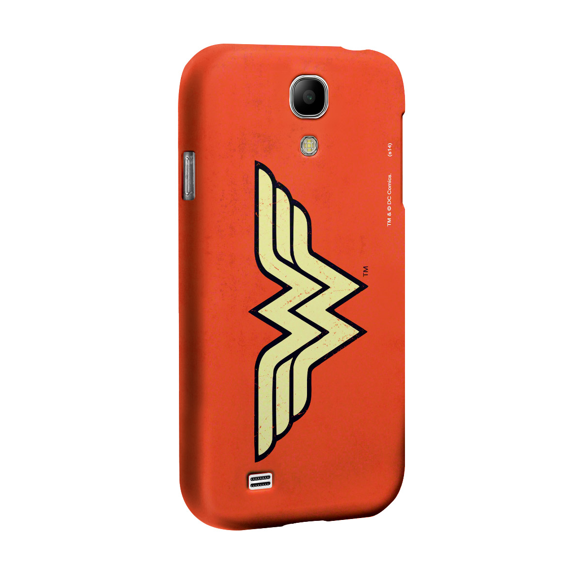 Capa de Celular Samsung Galaxy S4 Power Girls Wonder Woman