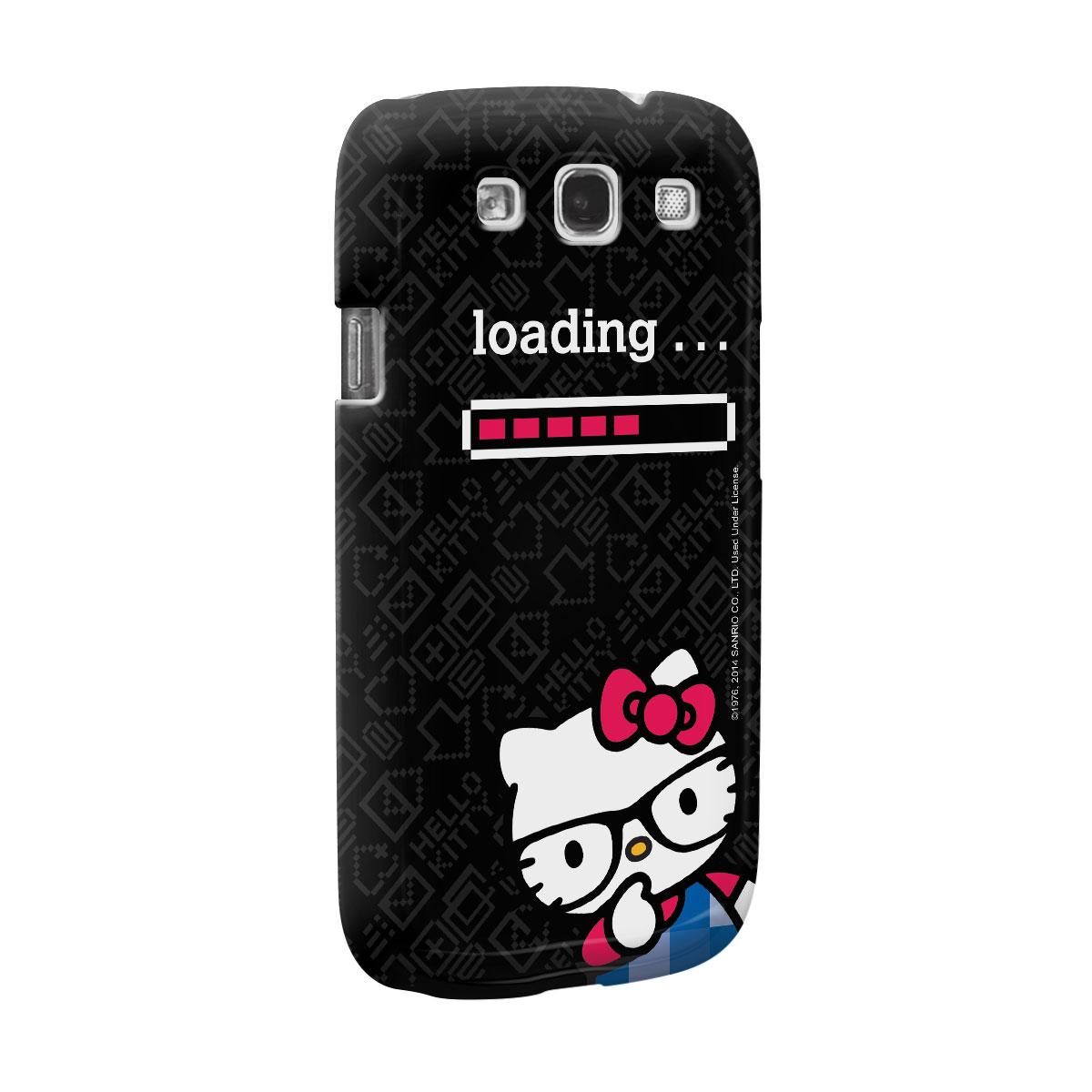 Capa de Celular Samsung S3 Hello Kitty Loading