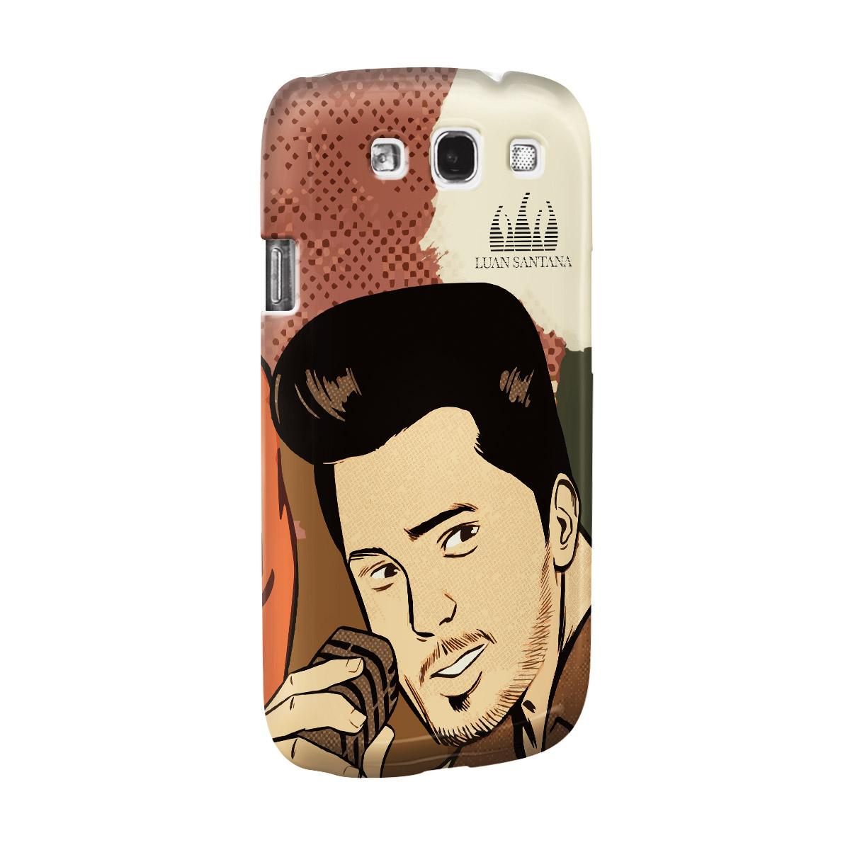 Capa de Celular Samsung S3 Luan Santana Eu Não Merecia Isso