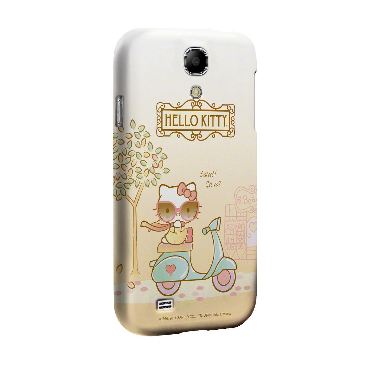 Capa de Celular Samsung S4 Hello Kitty Salut! Ça Va?