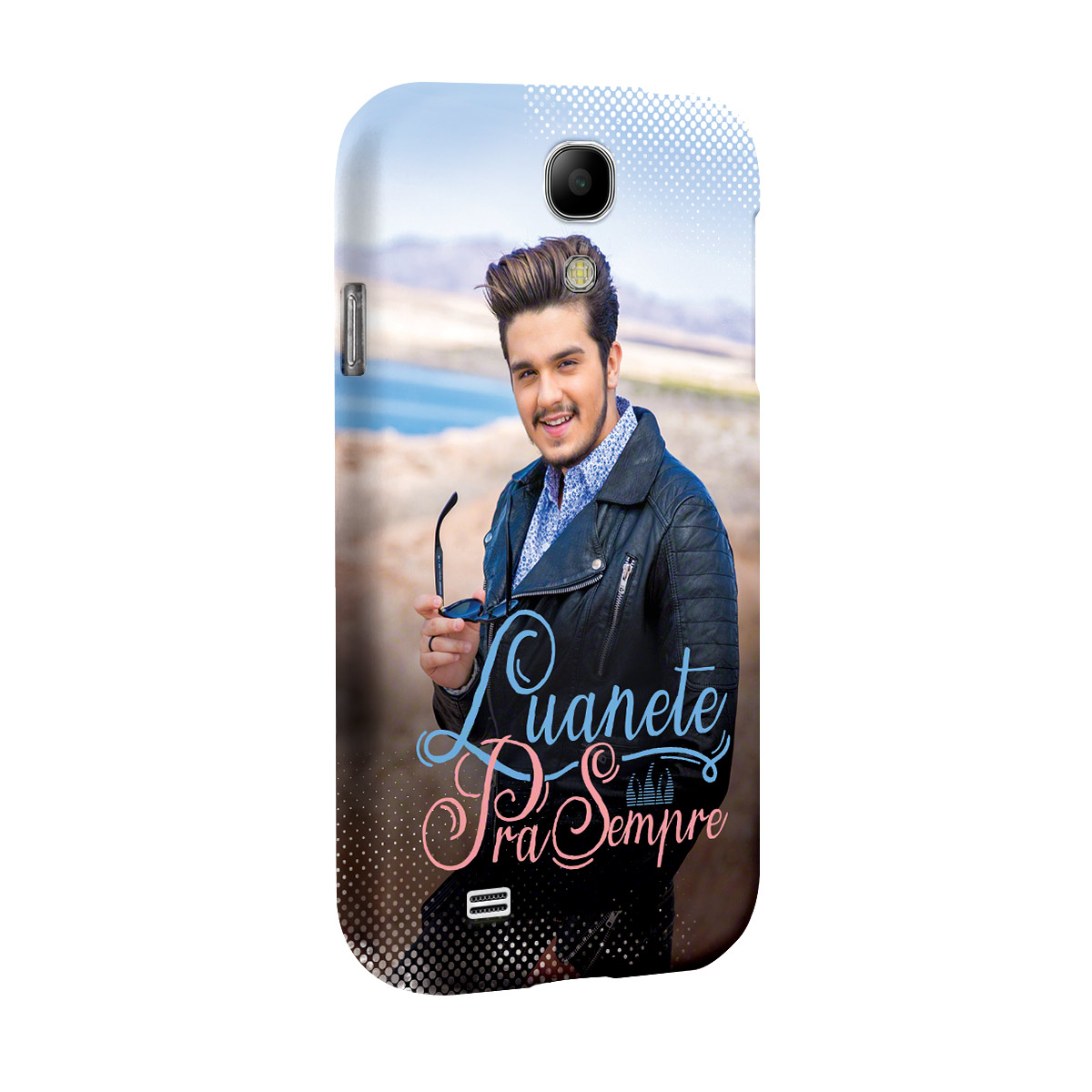 Capa para Samsung S4 Luan Santana Luanete Pra Sempre