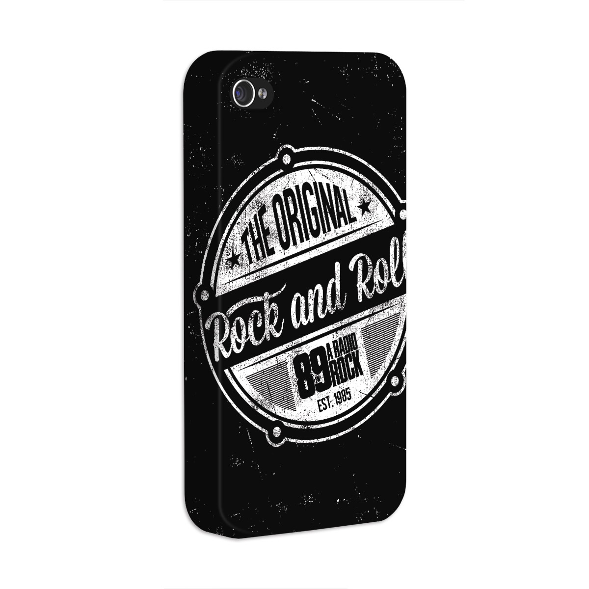 Capa de iPhone 4/4S 89 FM The Original Rock And Roll
