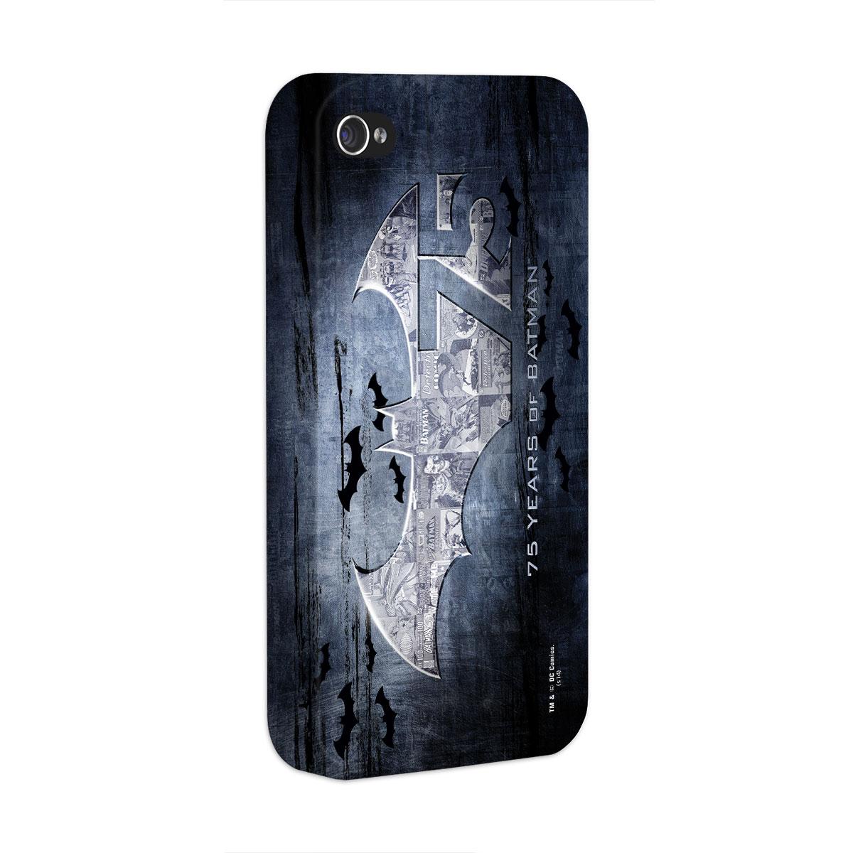 Capa de iPhone 4/4S Batman 75 Anos Logo