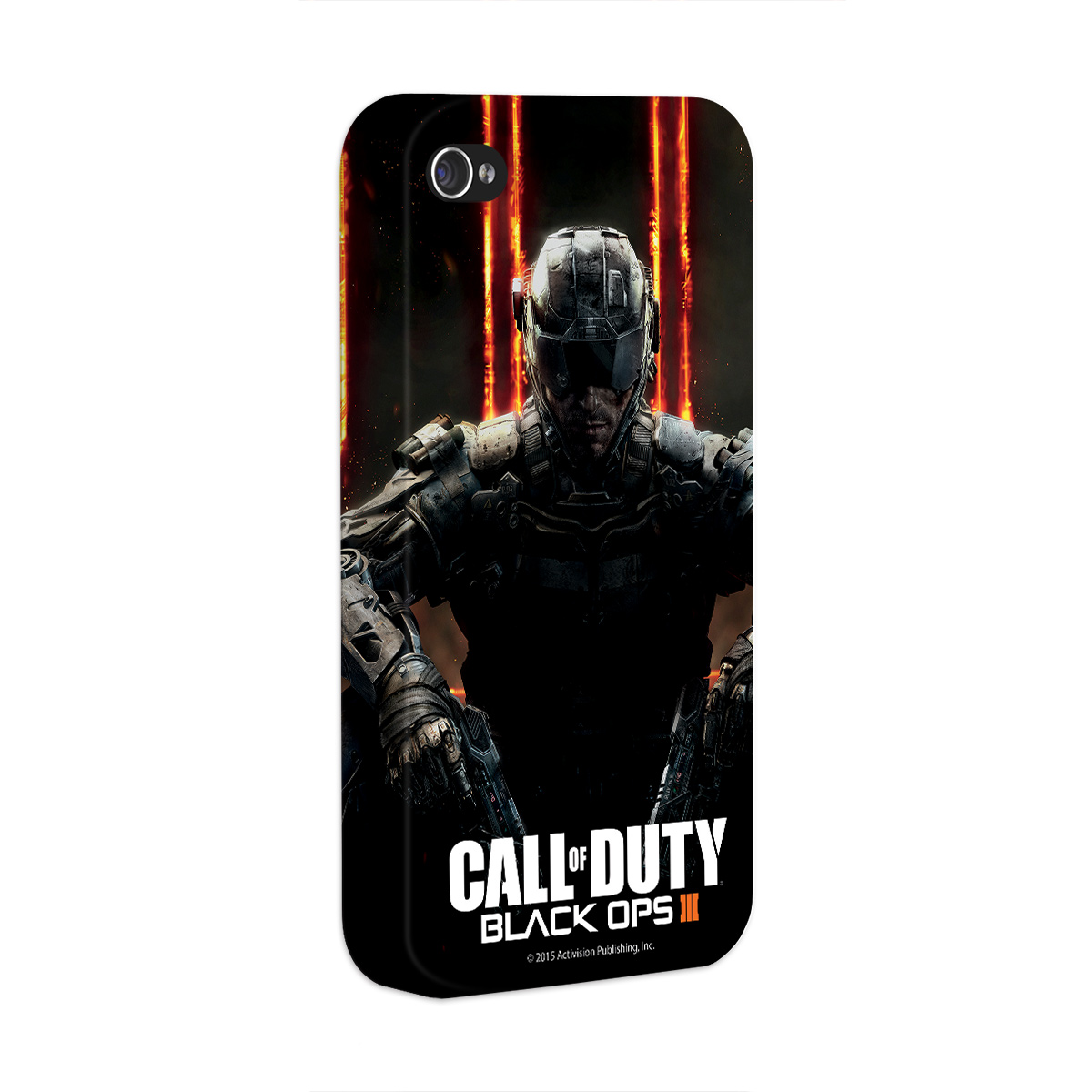 Capa para iPhone 4/4S Call of Duty Soldier 2015
